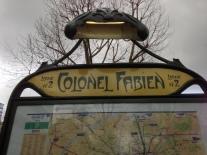 Place du Colonel Fabien