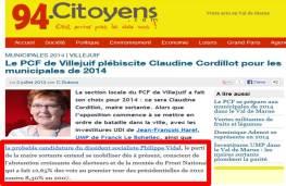 Candidature Cordillot