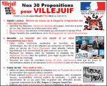 30 Propositions pour Villejuif