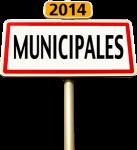 Election Municipales panneau