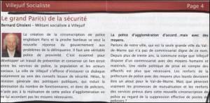 Bernard Ghisleni Article Grand Pari de la Securité