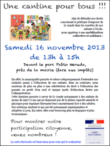 Tract Cantine pour tous