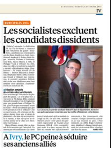 Exclusion PS LeParisien