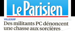LeParisien 270416 : Chasse aux Sorcieres