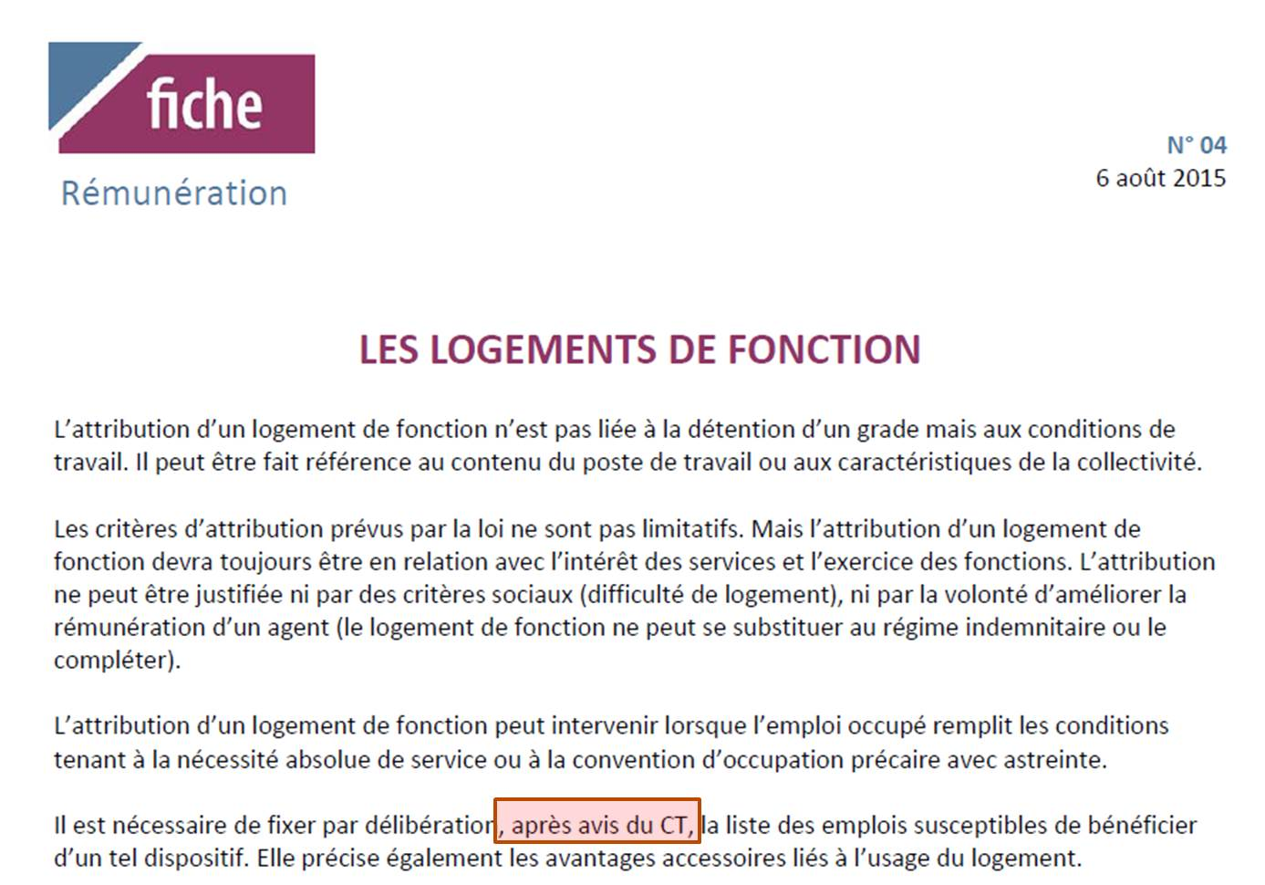 Logement De Fonction Du Futur Dgs Illegal Sur La Forme Immoral